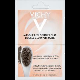 VICHY Rozjasňující pleťová peelingová maska 2x6ml