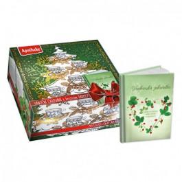 APOTHEKE Dárková kolekce čajů s herbářem 90 sáčků
