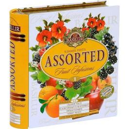 BASILUR Fruit Infusions Book Summer Fiesta plech 32x1,8g