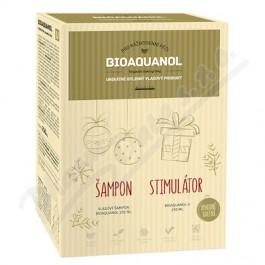 Bioaquanol Vánoční balení (Šamp+Stimulátor U 250 ml)