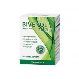 Bivenol micro tbl.60+10 + ZDARMA Biomedica betakaroten 60 tablet