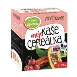 Green Apotheke CEREÁLKA ovesná kaše višně s kakaem 4X75g