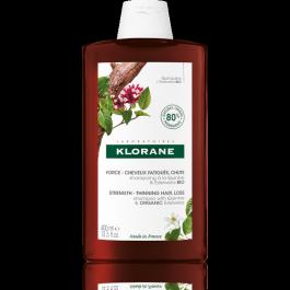 KLORANE Šampon chinin a BIO protěží alpská 400ml NOVINKA