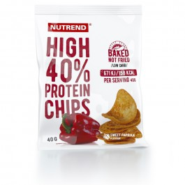 NUTREND High protein chips paprika 40g