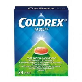 COLDREX Tablety 24 tablet+DÁREK Kapesníčky