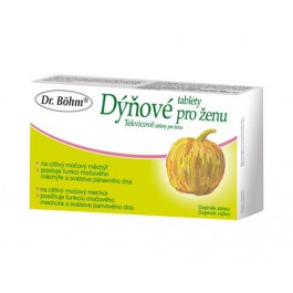 Dr.Bohm Dýňové tablety pro ženu tbl.30