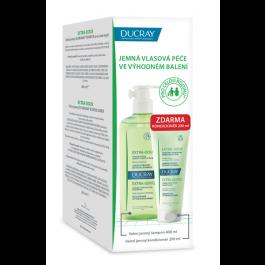 DUCRAY Extra Doux šampon 400ml + Kondicionér 200ml ZDARMA