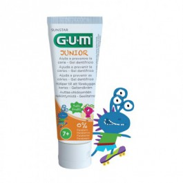 GUM Junior zubní pasta pro školáky 7-12 let pomeranč 50ml