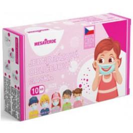 Dětská obličejová maska pro holky 10 ks