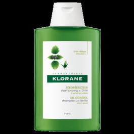 KLORANE Šampon na mastné vlasy z kopřivy 400ml