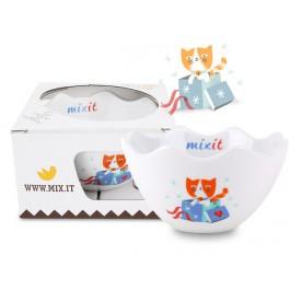 Mixit Miska s kočkou v dárkovém balení