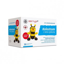 Barnys Kolostrum s betaglukany cps.30 + hračka