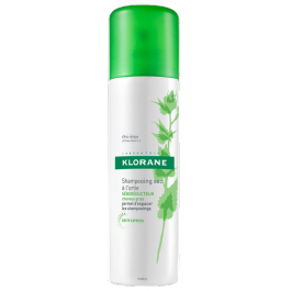 KLORANE Suchý šampon na mastné vlasy kopřiva 150ml