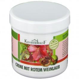 Krauterhof krém z listů červené vinné révy a růžového kaštanu 100ml