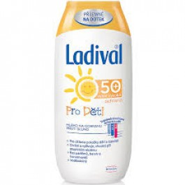 Ladival mléko na opalování pro děti SPF50 200ml