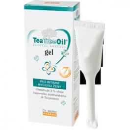 Dr.Müller Tea Tree Oil gel pro intimní hygienu ženy, 7x7,5ml