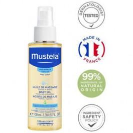 Mustela Bébé masážní olej pro děti od narození 100 ml
