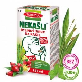 Terezia Nekašli 100% přírodni bylinny sirup 150ml