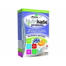 Nutrikaše probiotic meruňka a borůvka 180g (3x60g)