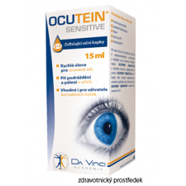 Ocutein SENSITIVE očni kapky 15ml