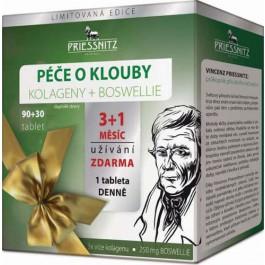 Priessnitz Kolageny + Boswellie péče o klouby tbl.90+30