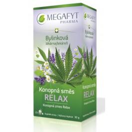 Čaj bylinková lékárna Konopná směs Relax 20x1.5g