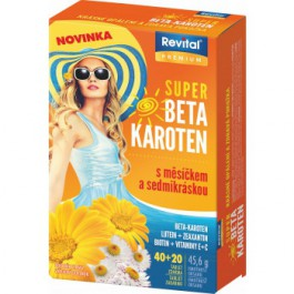 Revital Super Betakaroten s měsíčkem a sedmikráskou 60 tablet