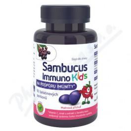 Sambucus Immuno kids želatinové bonbony 60 ks