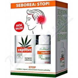 CANNADERM Capillus šampon 150 ml + sérum seborea 40 ml dárková sada