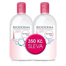 BIODERMA Sensibio H2O micelární voda 2 x 500ml