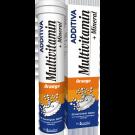 Additiva multivitamín + minerál 20 šumivých tablet pomeranč