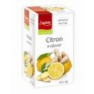 Apotheke Čaj Citron zázvor s lípou 20x2g