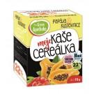 Green Apotheke CEREÁLKA ovesná kaše papaya a kustovnicí 4X75g