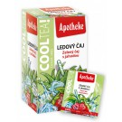 Apotheke COOLTEA Zelený čaj s jahodou 20x2g