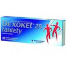DEXOKET 25mg 10 tablet