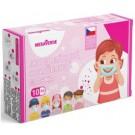 Dětská obličejová rouška pro holky 10 ks