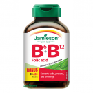 JAMIESON Vitaminy B6 B12 + kyselina listová tbl.110