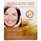 Ipsuum Prestige maska Active Gold zesvětlení a vyhlazení 25g