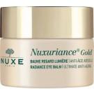 NUXE Nuxuriance Gold rozjasňující oční balzám 15ml + ZDARMA Nuxuriance GOLD oční krém 15 ml