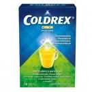 COLDREX Horký nápoj citron Prášek pro roztok 10 sáčků+DÁREK Kapesníčky