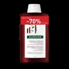 KLORANE Chinin šampon DUO 2x400ml