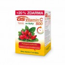 GS Vitamin C 500mg se šípky 120 tablet
