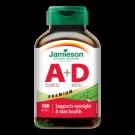 JAMIESON Vitaminy A+D 10000/800IU Premium cps.100