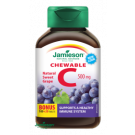 JAMIESON Vitamin C 500mg hroznové víno cucací 120 tablet