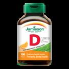 JAMIESON Vitamín D3 1000IU tablety s příchutí pomeranč 100tbl.