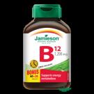 JAMIESON Vitamin B12 1200mcg s postupným uvolňováním tbl.80