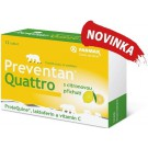 Preventan Quattro s citronovou přichutí tbl.12