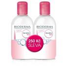 BIODERMA Sensibio H2O micelární voda 2 x 250 ml