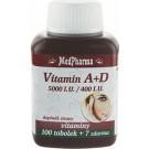 MedPharma Vitamin A+D (5000 I.U./400 I.U.) tob.107
